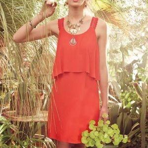Maeve red tisana dress